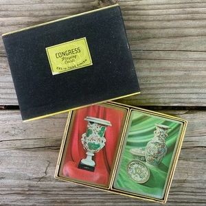Vintage 1960s Congress Playing Cards